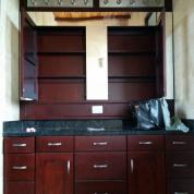 Furniture bathroom, closets and cabinets